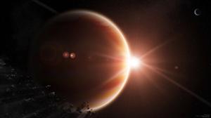 Meteor Planet Sci Fi Space 1920x1080 wallpaper