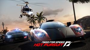 Need For Speed Need For Speed Hot Pursuit Video Games Pagani Zonda Lamborghini Reventon 1920x1080 wallpaper