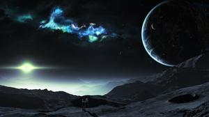 Sci Fi Landscape 4000x2226 wallpaper