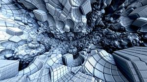 3d Cube Digital Art 6000x4000 Wallpaper