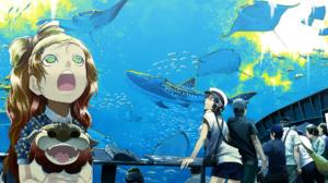 Aquarium Shark Manta Ray Water Fish Whale Shark 1920x1080 Wallpaper