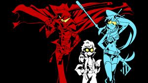 Anime Tengen Toppa Gurren Lagann 2134x1200 wallpaper