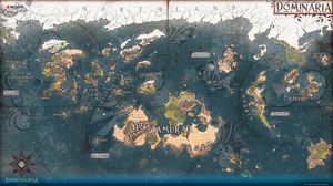 Dominaria Magic The Gathering Map 1920x1080 wallpaper