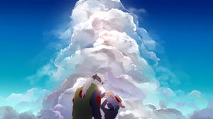 Kakashi Hatake Sakumo Hatake Man Boy Sky 2189x1196 Wallpaper