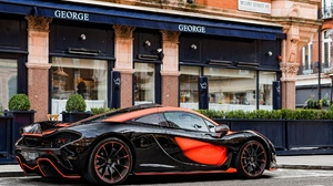 Black Car Car Mclaren Mclaren P1 Sport Car Supercar Vehicle 2048x1280 wallpaper