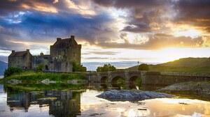 Man Made Eilean Donan Castle 2048x1536 Wallpaper