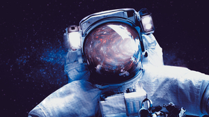 Sci Fi Astronaut 3000x1688 Wallpaper
