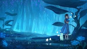 Anime Original 2560x1220 wallpaper