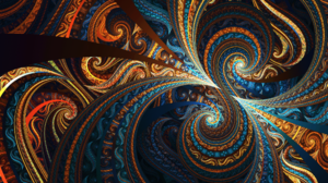 Abstract Artistic Colors Digital Art Fractal 2560x1440 Wallpaper