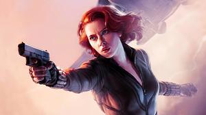 Marvel Comics Marvel Cinematic Universe Black Widow 2000x1125 Wallpaper