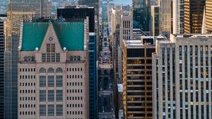 Chicago Architecture Skyline Aerial City Cityscape 1488x2145 wallpaper
