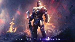 Armor Avengers Endgame Infinity Gauntlet Sword Thanos 3840x2160 Wallpaper