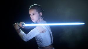 Rey Star Wars Lightsaber Jedi 1920x1200 wallpaper