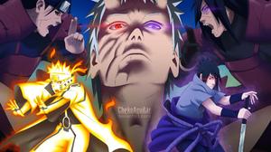Hashirama Senju Madara Uchiha Naruto Naruto Uzumaki Ninja Obito Uchiha Rinnegan Naruto Sasuke Uchiha 4000x2878 Wallpaper