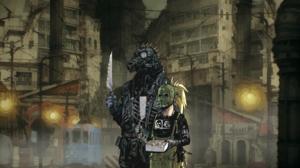 Anime Girls Dorohedoro Caiman Dorohedoro Nikaido Dorohedoro Gas Masks Mask Dark Knife Kaiman Dorohed 2254x1268 Wallpaper