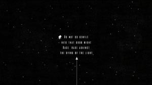 Interstellar Quote 3840x2160 Wallpaper