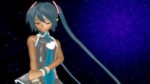Blue Hair Hatsune Miku Love Vocaloid 3840x2160 Wallpaper