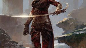 Jin Xiaodi Women Sword Girls With Swords Fantasy Art Fantasy Girl 1357x1920 Wallpaper