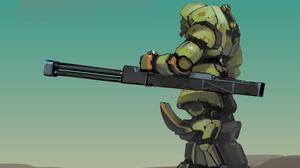 Robot Weapon 3000x2000 wallpaper