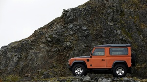 Car Land Rover Land Rover Defender Orange Car Suv Vehicle 3900x2600 Wallpaper