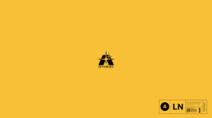 Bao T Nguyen Graphic Design Minimalism Logotype Logo Typography Material Minimal Simple Background 2560x1440 wallpaper
