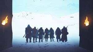 Beric Dondarrion Gendry Game Of Thrones Jon Snow Jorah Mormont Sandor Clegane Thoros Of Myr Tormund  2700x1518 wallpaper