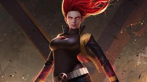 Jean Grey Marvel Comics Phoenix Marvel Comics Red Hair X Men 3520x1980 Wallpaper