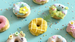 Food Sweets Colorful Donut Donuts 2560x1707 Wallpaper
