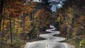 Road 3840x2160 wallpaper