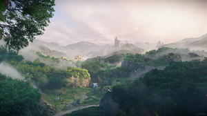Video Games Game Art Screen Shot Green Mountains PlayStation PlayStation 4 Sony Naughty Dog Uncharte 1920x1080 Wallpaper