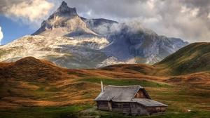 Man Made Cabin 3840x2160 wallpaper
