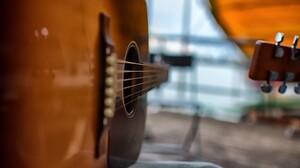 Close Up Guitar Instrument 2560x1600 Wallpaper