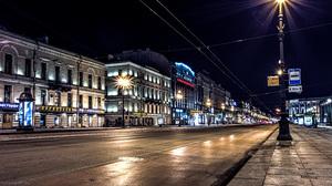 Man Made Saint Petersburg 5163x2903 wallpaper