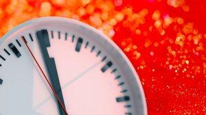 Clock New Year Red 6000x3751 Wallpaper