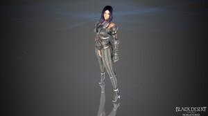 Dark Black Blue White Dark Blue Hair Black Hair Hair Eyes Silver Armor Socks Lace Socks Knight Gaunt 3840x2160 Wallpaper