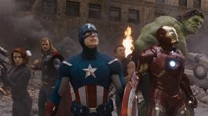 Black Widow Captain America Chris Evans Chris Hemsworth Hawkeye Hulk Iron Man Jeremy Renner Scarlett 1920x1080 Wallpaper