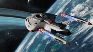 Nova Class Starship Uss Twilight Star Trek 2200x1100 Wallpaper