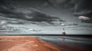 Beach Cloud Horizon Ocean Sky 2560x1440 wallpaper
