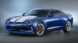 Chevrolet Camaro Rs Hyper Concept Car Muscle Car Blue Car Car 1920x1080 Wallpaper