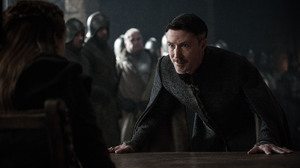 Aidan Gillen Petyr Baelish Sansa Stark Sophie Turner 4500x2995 wallpaper