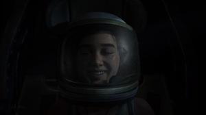 The Last Of Us 2 Astronaut Spaceship Ellie Ellie Williams Smile Dark Video Game Characters Video Gam 1920x1080 Wallpaper