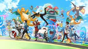 Aerodactyl Pokemon Blastoise Pokemon Charizard Pokemon Chikorita Pokemon Cyndaquil Pokemon Dragonite 6286x3662 Wallpaper