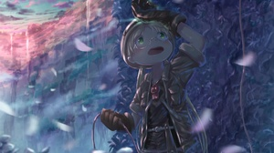 Boy Cliff Green Eyes Made In Abyss Riko Made In Abyss Waterfall 2125x1505 Wallpaper