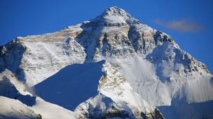 Mount Everest Snowy Peak Landscape Takayama Nepal Tibet 2390x1600 wallpaper