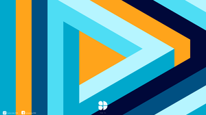 Abstract Triangle 8000x4500 wallpaper