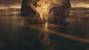 Anime Anime Girls Anime Boys Vocaloid Kagamine Len Kagamine Rin Fireworks Recneps SAiS 1300x1600 Wallpaper