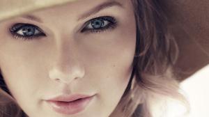Taylor Swift Women Singer Blonde Blue Eyes Face Closeup 1920x1080 Wallpaper