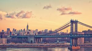 Manhattan Manhattan Bridge New York 2048x1365 Wallpaper