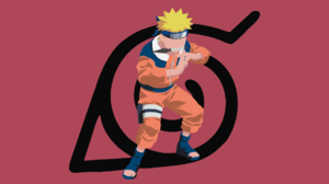 Minimalist Naruto Uzumaki 1920x1080 Wallpaper