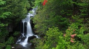 Nature Stream Waterfall 2048x1365 Wallpaper